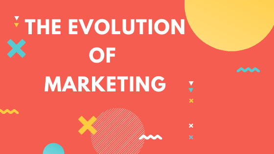 The Evolution Of Marketing infographic